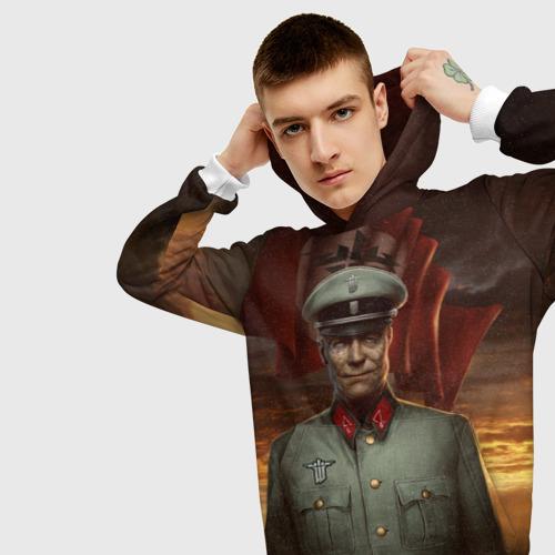 Мужская толстовка 3D  Фото 01, Wolfenstein