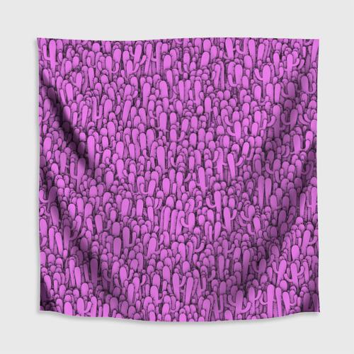 Скатерть 3D  Фото 02, Розовые кактусы