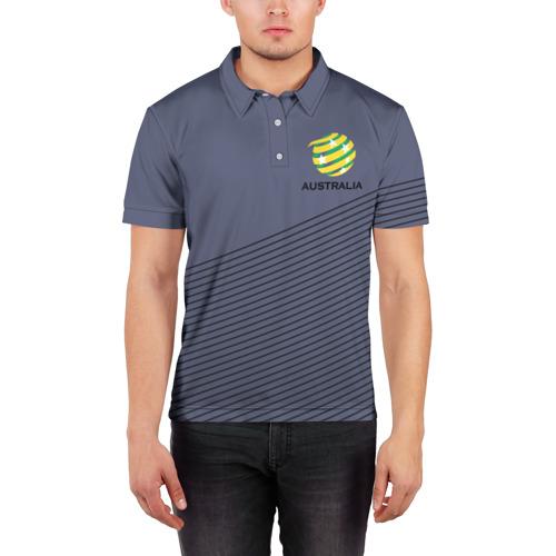 Мужская рубашка поло 3D  Фото 03, Австралия, форма
