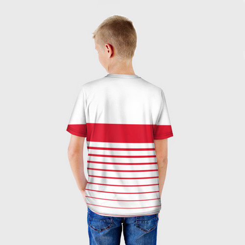 Детская футболка 3D  Фото 02, Швейцария, форма