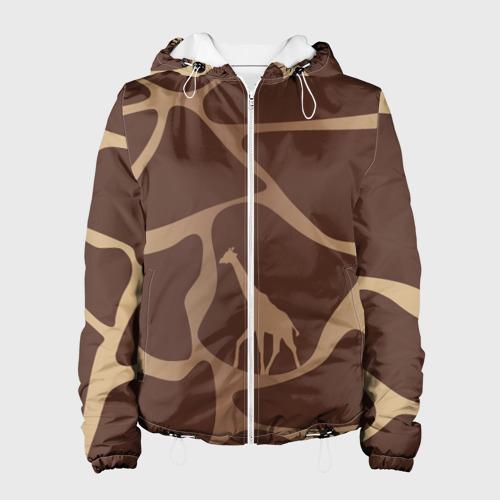 Женская куртка 3D  Фото 01, Жираф