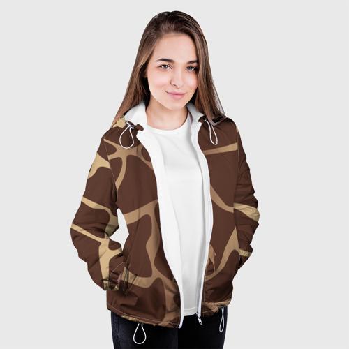 Женская куртка 3D  Фото 04, Жираф