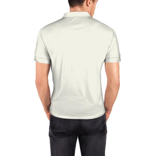 Мужская рубашка поло 3D  Фото 04, Стальной алхимик_