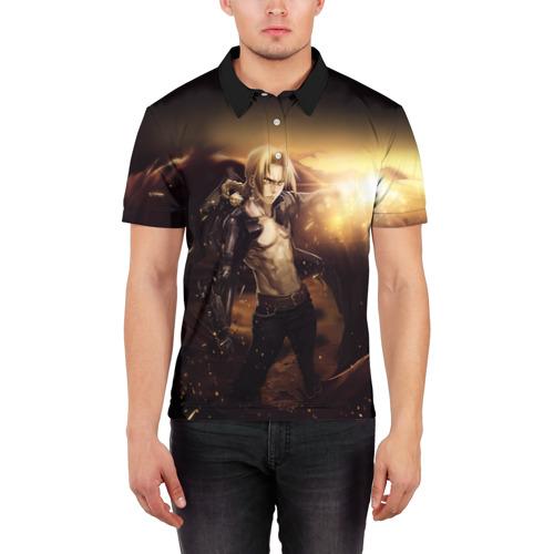 Мужская рубашка поло 3D  Фото 03, Эдвард_5