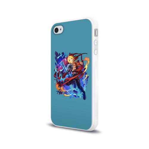 Чехол для Apple iPhone 4/4S силиконовый глянцевый  Фото 03, Эдвард _4