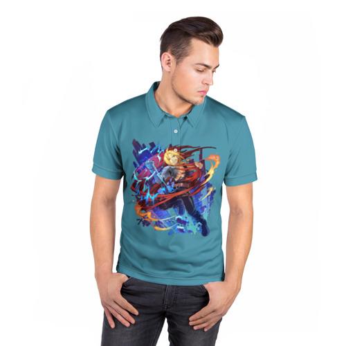 Мужская рубашка поло 3D  Фото 05, Эдвард _4