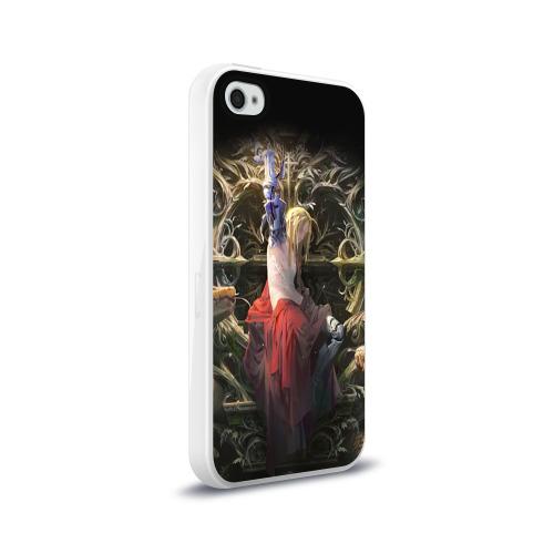 Чехол для Apple iPhone 4/4S силиконовый глянцевый  Фото 02, Fullmetal Alchemist
