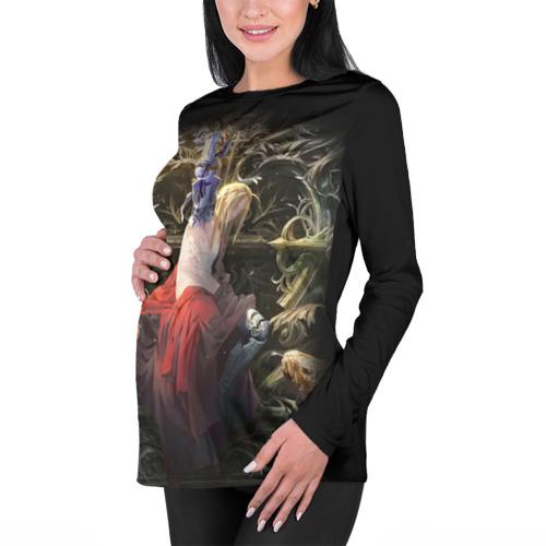 Женский лонгслив 3D для беременных  Фото 01, Fullmetal Alchemist