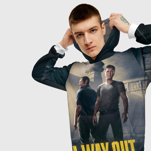 Мужская толстовка 3D A Way Out Фото 01