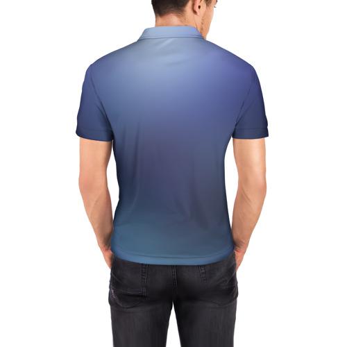 Мужская рубашка поло 3D  Фото 04, Luna