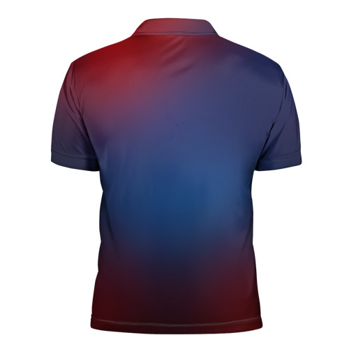 Мужская рубашка поло 3D  Фото 02, Red Moons