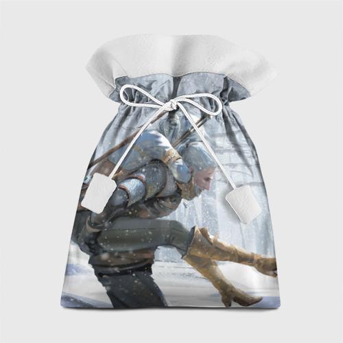 Подарочный 3D мешок Цири и Геральд Фото 01