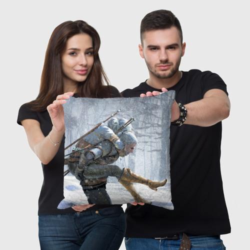 Подушка 3D  Фото 05, Цири и Геральд