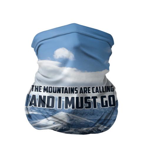 Бандана-труба 3D  Фото 01, альпинизм