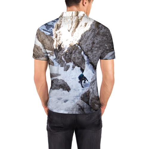 Мужская рубашка поло 3D  Фото 04, альпинизм