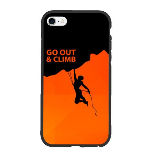 Чехол для iPhone 6/6S матовый climbing Фото 01
