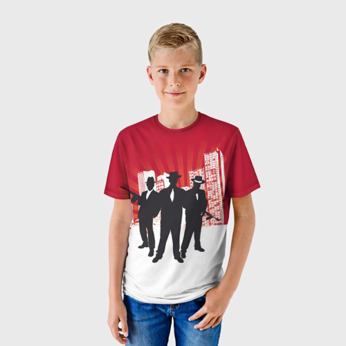 Детская футболка 3D MAFIA
