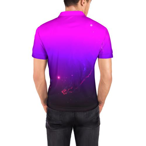 Мужская рубашка поло 3D  Фото 04, LINKIN PARK PARK SPACE STYLE