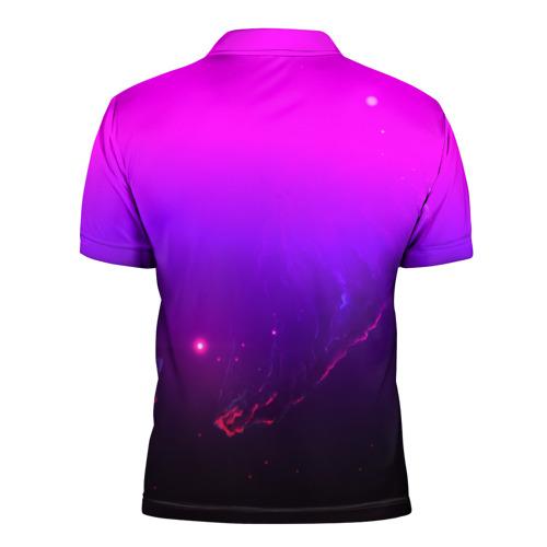 Мужская рубашка поло 3D  Фото 02, LINKIN PARK PARK SPACE STYLE