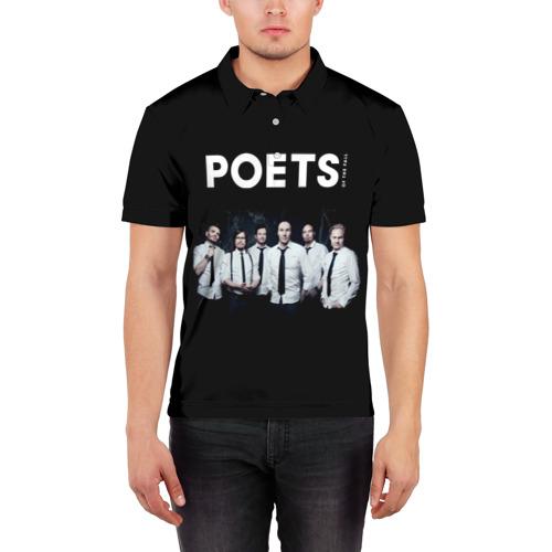 Мужская рубашка поло 3D  Фото 03, Poets of the Fall