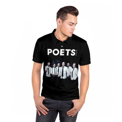 Мужская рубашка поло 3D  Фото 05, Poets of the Fall