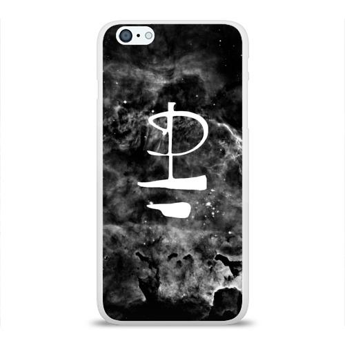 Чехол для Apple iPhone 6Plus/6SPlus силиконовый глянцевый  Фото 01, PINK FLOYD MUSIC SPACE LOGO