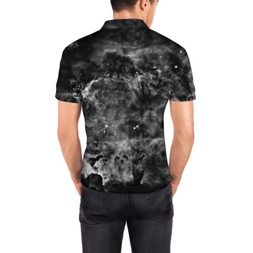 Мужская рубашка поло 3D  Фото 04, PINK FLOYD MUSIC SPACE LOGO