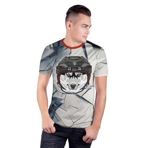 Мужская футболка 3D спортивная  Фото 03, КХЛ
