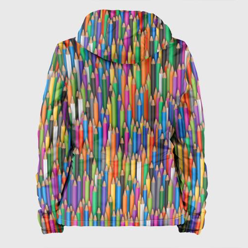 Женская куртка 3D  Фото 02, Разноцветные карандаши