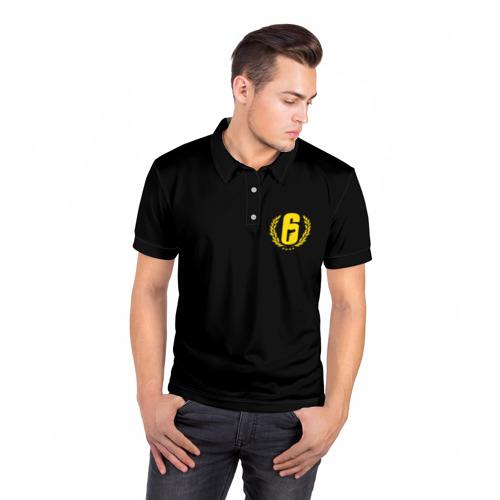 Мужская рубашка поло 3D  Фото 05, RAINBOW SIX SIEGE UNIFORM