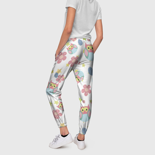Женские брюки 3D  Фото 02, Веселые совята