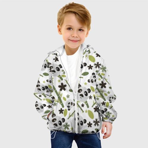 Детская куртка 3D Чудные панды Фото 01