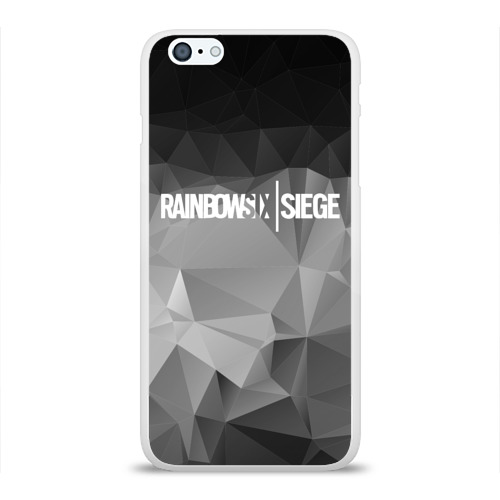 Чехол для Apple iPhone 6Plus/6SPlus силиконовый глянцевый  Фото 01, RAINBOW SIX SIEGE