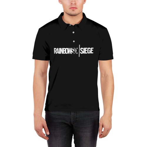 Мужская рубашка поло 3D  Фото 03, RAINBOW SIX SIEGE
