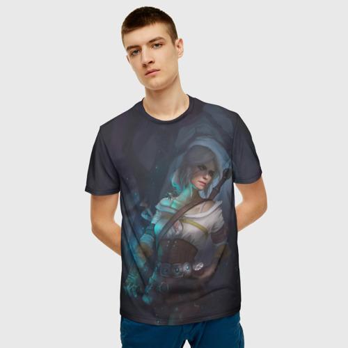Мужская футболка 3D Цири Фото 01