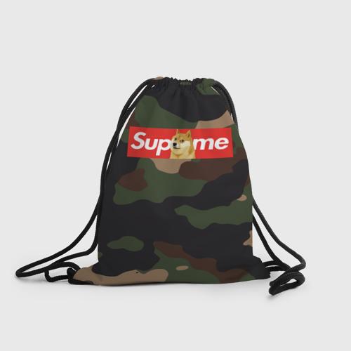 Рюкзак-мешок 3D Supreme Doge camouflage Фото 01