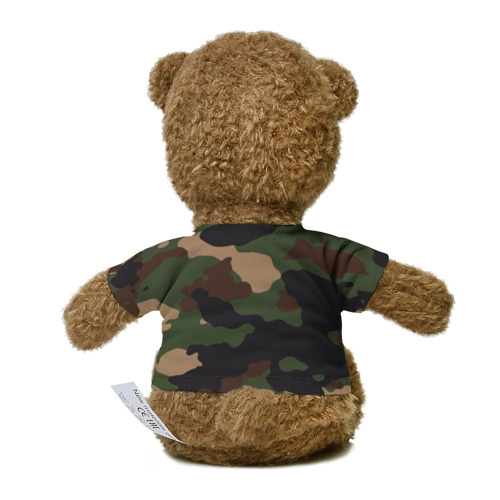 Миша в футболке 3D Supreme Doge camouflage Фото 01