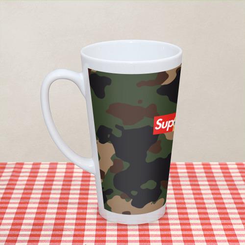 Кружка Латте Supreme Doge camouflage Фото 01