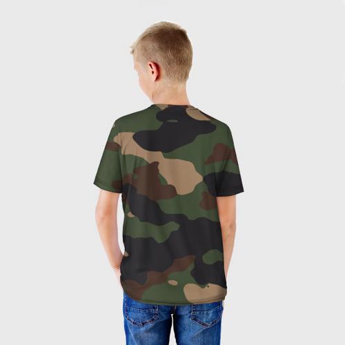 Детская футболка 3D Supreme Doge camouflage Фото 01