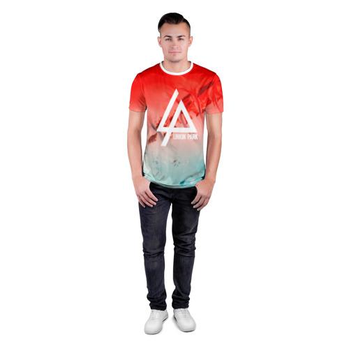 Мужская футболка 3D спортивная  Фото 04, LINKIN PARK