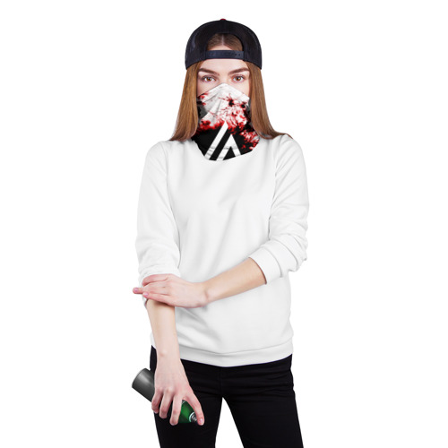 Бандана-труба 3D  Фото 02, LINKIN PARK BLOOD COLLECTION