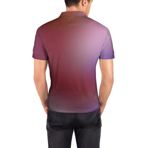 Мужская рубашка поло 3D  Фото 04, White