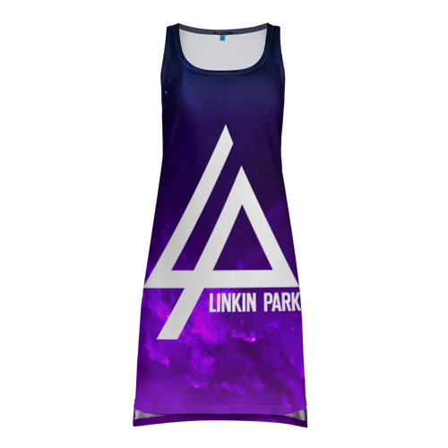 Платье-майка 3D LINKIN PARK SPACE COLOR 2018