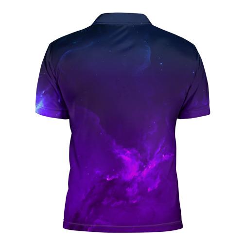 Мужская рубашка поло 3D  Фото 02, LINKIN PARK SPACE COLOR 2018