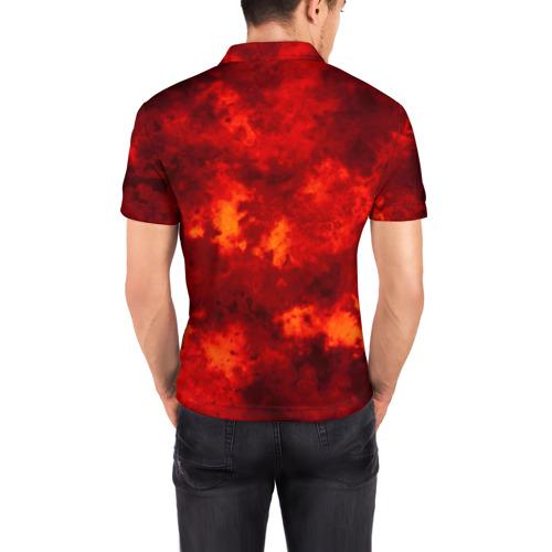 Мужская рубашка поло 3D  Фото 04, LINKIN PARK FIRE MUSIC 2018