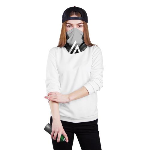Бандана-труба 3D  Фото 02, LINKIN PARK SMOKE GRAY 2018