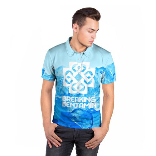 Мужская рубашка поло 3D  Фото 05, BREAKING BENJAMIN