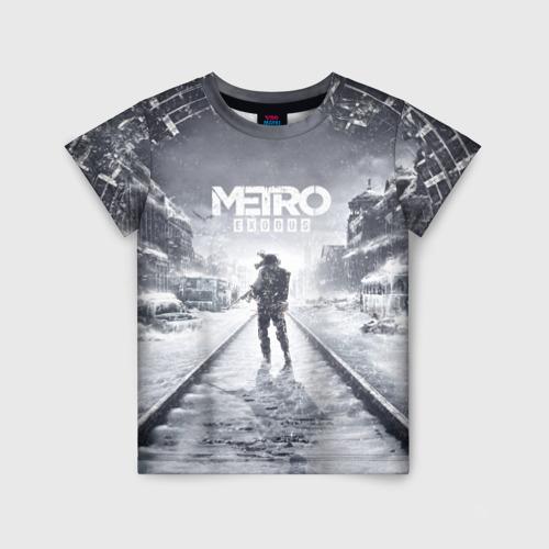 Детская футболка 3D METRO: Exodus