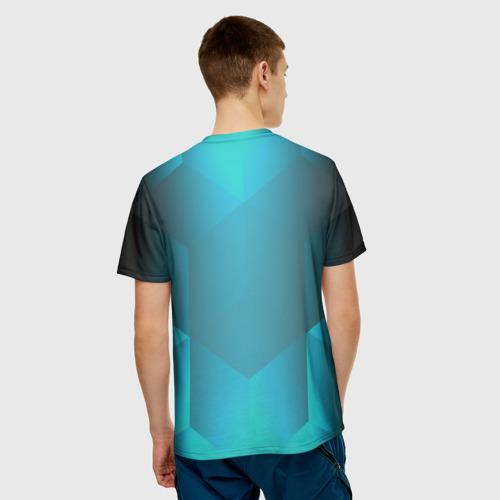 Мужская футболка 3D  Фото 02, Real Madrid Geometry Sport