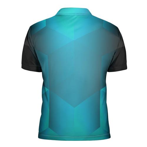 Мужская рубашка поло 3D  Фото 02, Real Madrid Geometry Sport